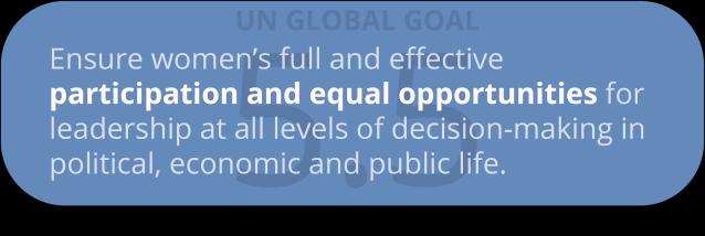global goal 5.5