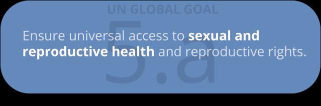 global goal 5.a