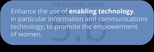global goal 5.b