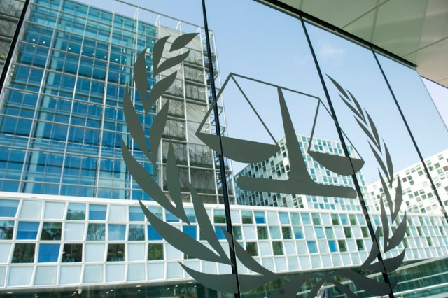 A view of the International Criminal Court (ICC) premises. UN Photo_Rick Bajornas