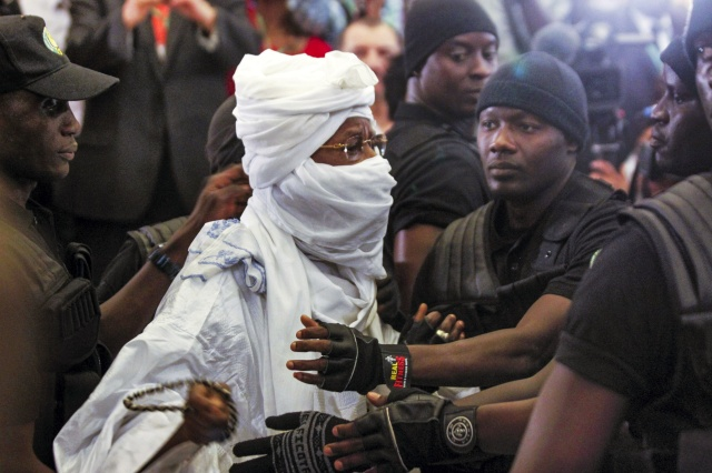 2015/07/20. Hissene Habre Trial Kicks Off in Dakar, Senegal.