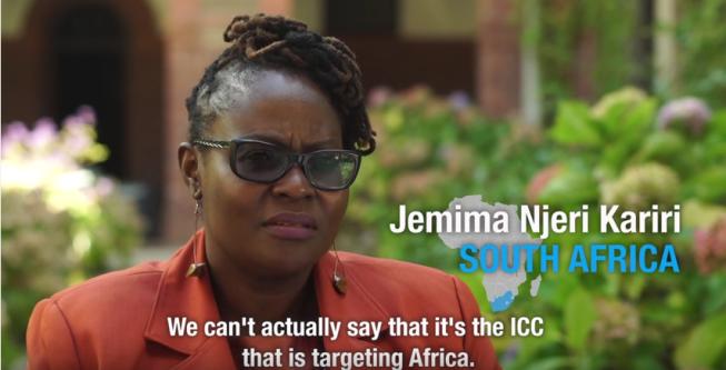 African activists ICC