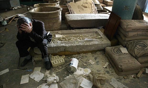 iraqi national museum 8 attacks blog