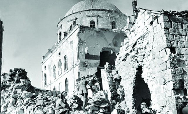 Old city synagogue 8 attacks blog